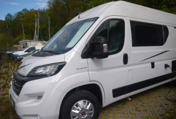 Hire a motorhome in Berlin from private owners  Karmann Luigi