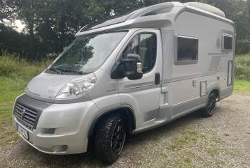 Hire a motorhome in Krefeld from private owners  Knaus Cozy-Camper