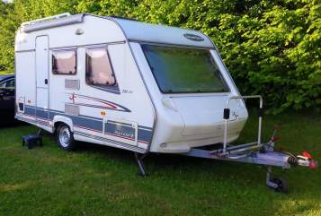 Hire a motorhome in Ennepetal from private owners  Beyerland Maserati Camper