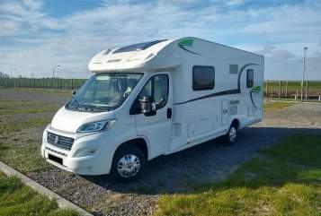 Hire a motorhome in Wurmberg from private owners| Forster Seasidecamper