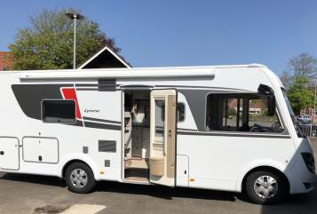 Hire a motorhome in Bredstedt from private owners| Bürstner Fridolin