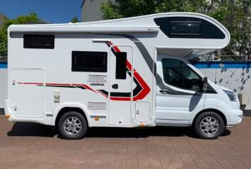 Hire a motorhome in Düsseldorf from private owners| Challenger Mauritius