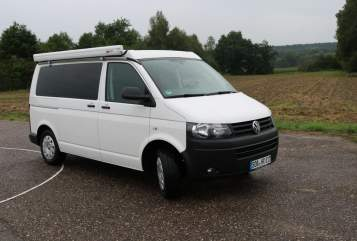Hire a motorhome in Schrobenhausen from private owners| VW Bus T5 Polaris