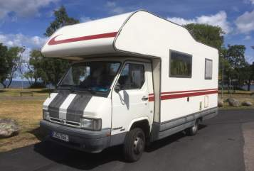 Hire a motorhome in Zwickau from private owners| Nissan  Camper