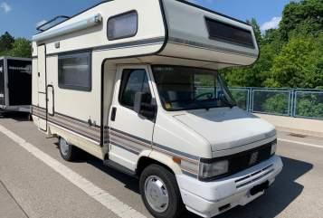 Hire a motorhome in Gräfelfing from private owners| Fiat White Oldie