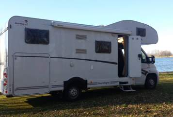 Hire a motorhome in Berlin from private owners| Fiat Ducato Sunny