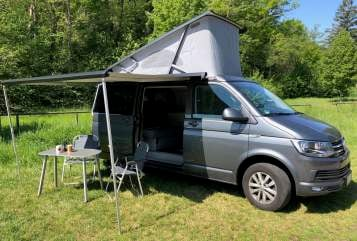 Hire a motorhome in Mössingen from private owners| VW T6 Cali T6