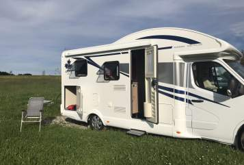 Hire a motorhome in Meßkirch from private owners  Ahorn Camp Theo