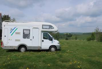 Hire a motorhome in Offenbach am Main from private owners  Knaus  Schwalbe