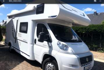 Hire a motorhome in Leipzig from private owners| Fiat Ducato 2.3 Multijet Käthe