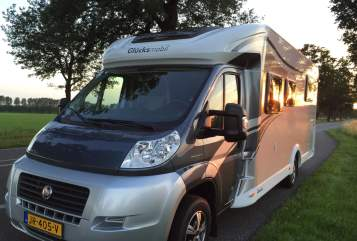 Hire a motorhome in Beltrum from private owners| Glucksmobile Glücksmobil