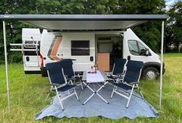 Hire a motorhome in Bad Soden-Salmünster from private owners| Weinsberg Paulina