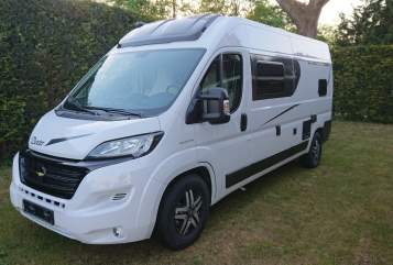 Hire a motorhome in Hamburg from private owners| Karmann Mobil Dexi