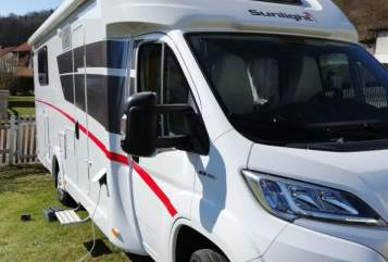 Hire a motorhome in Pappenheim from private owners  Sunlight  Heider's Womo