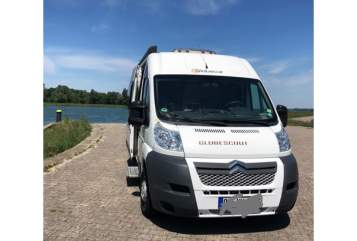 Hire a motorhome in Hohberg from private owners  Pössl Globecar Runner
