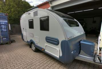 Hire a motorhome in Heddesheim from private owners  Adria Knutschkugel