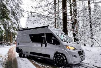 Hire a motorhome in Stuttgart from private owners  2019 Fiat Ducato - 4Elements ICE BEAR