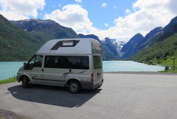 Hire a motorhome in Köln from private owners  Ford Weltenbummler