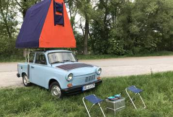 Hire a motorhome in Haibach from private owners| Trabant Trabi