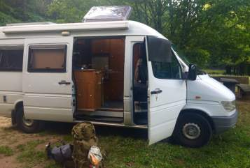 Hire a motorhome in Margetshöchheim from private owners  Mercedes Benz Knut