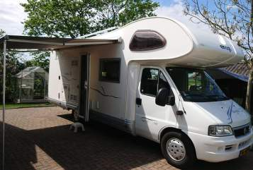 Hire a motorhome in Ten Post from private owners| Elnagh Familiecamper