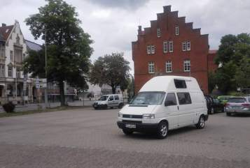 Hire a motorhome in Freital from private owners| VW T4 Bulli-Mobil