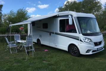 Hire a motorhome in Kiel from private owners  KNAUS  Manfred