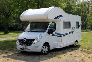 Hire a motorhome in Allstedt from private owners| RENAULT KRAUSE CAMPER 1