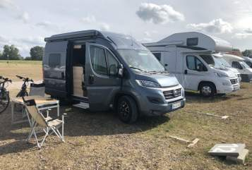 Hire a motorhome in Mühltal from private owners| Hymer Hymer