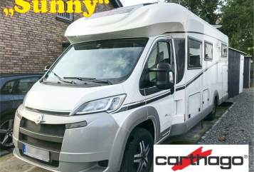 Hire a motorhome in Elsdorf from private owners| Carthago Sunny Carthago
