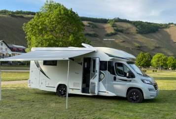 Hire a motorhome in Ramstein-Miesenbach from private owners| Chausson Trigano Bourbon