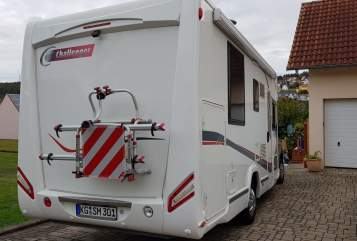 Hire a motorhome in Nüdlingen from private owners| Fiat Ducato Büffi