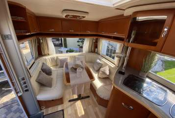 Hire a motorhome in Königswinter from private owners| Tabbert  Puccini 560