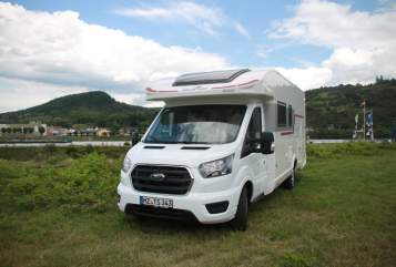 Hire a motorhome in Mainz from private owners  Roller Team  Phönix-Kronus