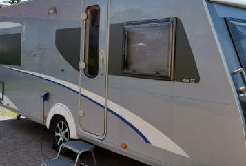 Hire a motorhome in Hirzenhain from private owners| Bürstner Witzis Traum