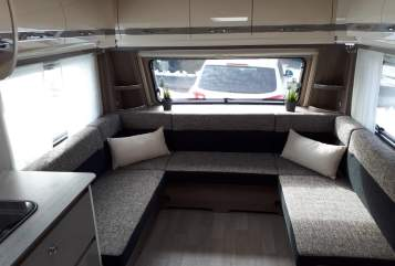 Hire a motorhome in Meßstetten from private owners| Fendt Luxus Camper