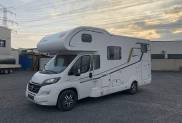 Hire a motorhome in Frechen from private owners| Eura Mobil Pete on Tour