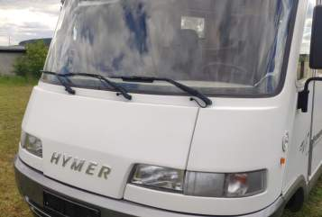 Hire a motorhome in Kassel from private owners| Hymer  Brexi