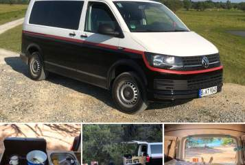 Hire a motorhome in Berlin from private owners| VW Transporter T6 T6 Campfner