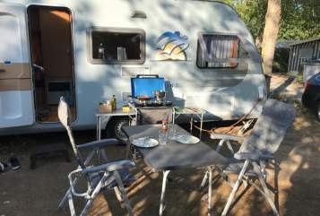 Hire a motorhome in Haigerloch from private owners| Knaus Tabbert Schneckenhaus