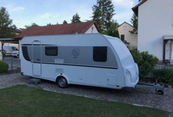 Hire a motorhome in Sommerhausen from private owners| Knaus Sporti I