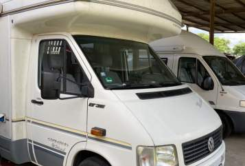 Hire a motorhome in Potsdam from private owners  VW LT35 Missouri