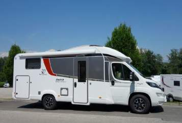 Hire a motorhome in Weil am Rhein from private owners| Fiat  Bürstner
