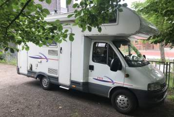 Hire a motorhome in Kiel from private owners| Fiat Kieler Sprotte