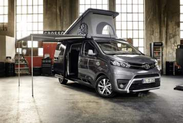 Hire a motorhome in Kelsterbach from private owners| Toyota Tony