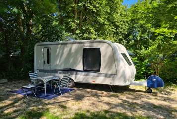 Hire a motorhome in Augsburg from private owners| Hobby Rolli
