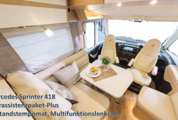 Hire a motorhome in Oberhausen from private owners| Hymer Edel Premium MB
