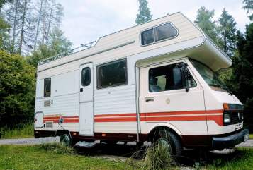Hire a motorhome in Brilon from private owners  VW  Karmann mobil