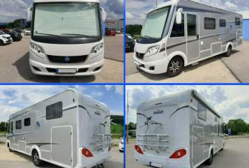 Hire a motorhome in Kernen im Remstal from private owners| Knaus Anton