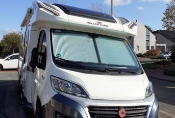 Hire a motorhome in Heinsberg from private owners| Roller Emma